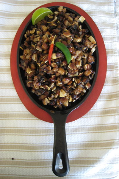 Spicy Sizzling Sisig