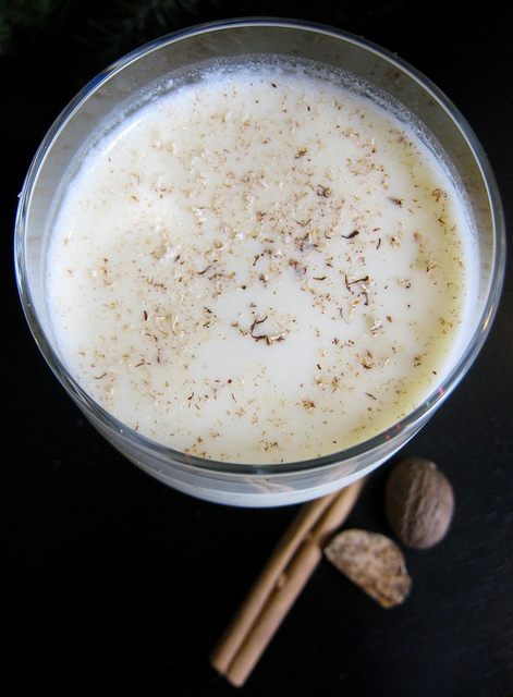 Coconut milk eggnog2