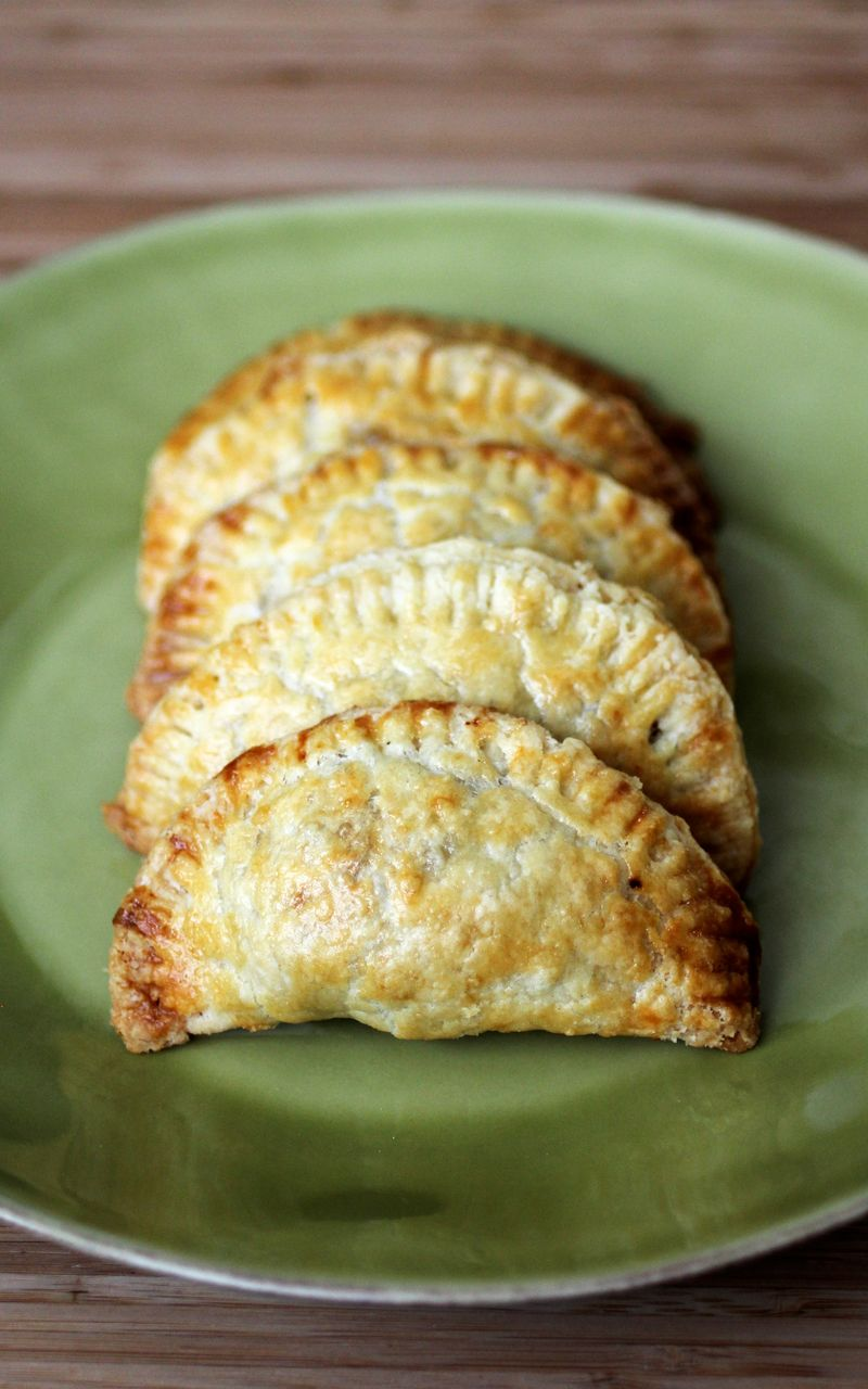 Turkey, Sweet Potato, and Cranberry Empanadas