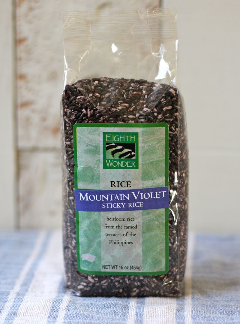 Violet Sticky Rice