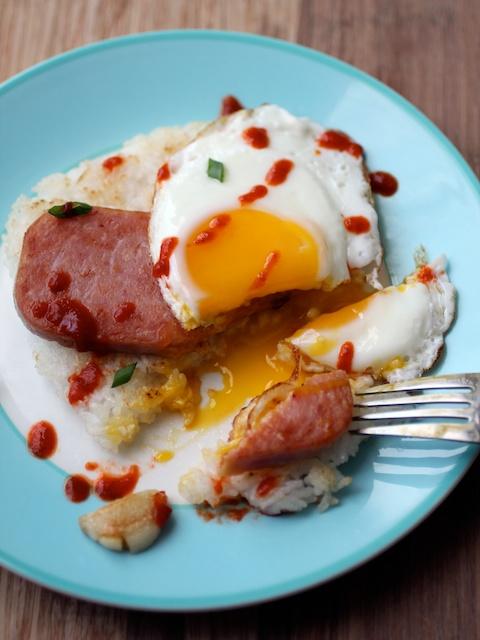 Burnt-Lumpia-filipino-food-spamsilog-spam-fried-egg-fried-rice